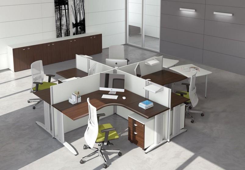 Mobili Per Ufficio : Mobili per ufficio open space ellezetaoffice srl cagliari